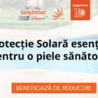 reducere gerovital farmec produse solare